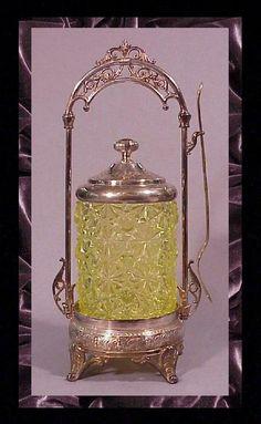 Pickle Castor Vaseline Simpson Hall Miller C 1880'S | eBay
