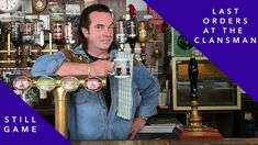 Boabby looks back on some of the great moments in Craiglang's favourite boozer as he prepares to pour his last pint in the Clansman. Catch Still Game on your. Still Game, Be Still, British Comedy, Try Again, Scotland, In This Moment, Games, Amazing, Board