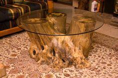 42 round Glass Top On Caifornia Buckeye Triple Stump-72-dpi-1195