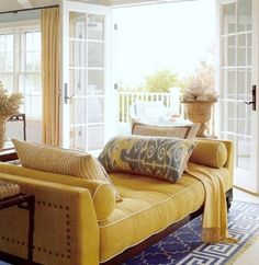 Good Life of Design: My Color Pick For 2013 Not a neon or citron yellow but a very warm, gold based yellow