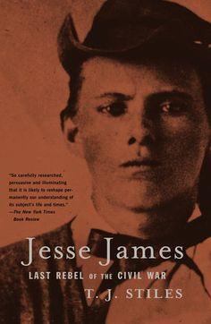 Jesse James by T.J. Stiles | PenguinRandomHouse.com  Amazing book I had to share from Penguin Random House