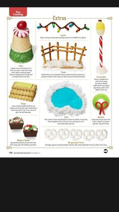 Gingerbread House Extras