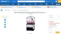 [Wal-Mart] Mini Processador Aço Escovado DLC1SS Cuisinart 20091 - de R$ 187,53 por R$ 177,95 (5% de desconto)