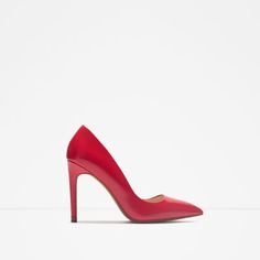 ZARA - WOMAN - LEATHER COURT SHOE