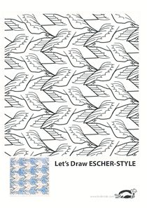 Escher Printable Coloring Pages art workshops in 2019