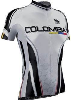 Colombia Team 13 Womens Cycling Jersey Short Sleeve 82603f93d