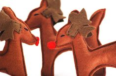 Items similar to Rudolph Reindeer Christmas Decoration or Ornament on Etsy Reindeer Christmas, Scooby Doo, Dinosaur Stuffed Animal, Christmas Decorations, Ornaments, Handmade Gifts, Animals, Etsy, Vintage