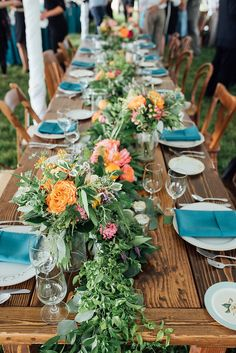 Colorful Country Chic Wedding Featured On Midwest Bride