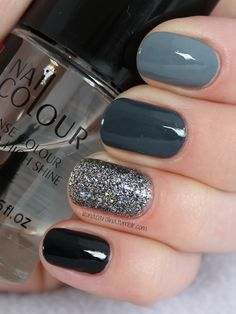 39 Trendy Fall Nails Art Designs Ideas - Hair and Beauty eye makeup Ideas To Try. - Nail art diy 39 Trendy Fall Nails Art Designs Ideas - Hair and Beauty eye makeup Ideas To Try. Square Nail Designs, Fall Nail Art Designs, Grey Nail Designs, Autumn Nails, Winter Nails, Fall Nail Art Autumn, Diy Nails Fall, Summer Nails, Acrylic Nails Autumn