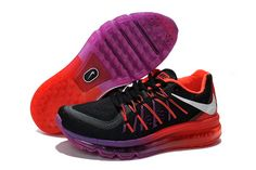 official photos bdf30 c99c3 Buy Nike Women Air Max 2015 Black Red Purple Running Shoes Christmas Deals  from Reliable Nike Women Air Max 2015 Black Red Purple Running Shoes  Christmas ...