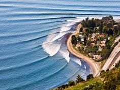 Rincon del Mar (California) One of the best surfing spots in the 60's