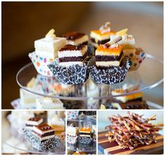 Bacon on a stick by Fresh Tracks Catering, Colorado Wedding Vendor, Colorado Wedding Caterer, Evergreen Wedding Caterer, Evergreen Catering  http://www.raynamcginnisphotography.com/evergreen-lake-house-wedding-show-october-2015/