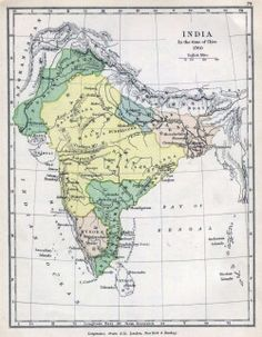 Historical maps india in 18 mapsof vintage maps of india india map 1760 1154x1485 px 334787109375k jpg gumiabroncs Gallery