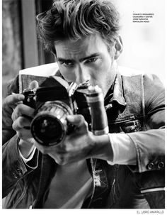 Jon Kortajarena Stars in a Stylish Fashion Story for El Libro Amarillo image Jon Kortajarena El Libro Amarillo 2014 Fall 006