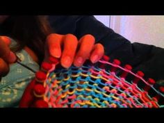 Loom Knitting A Hat