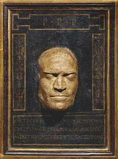 Cast of the Death Mask of Lorenzo de' Medici  ?Orsino Benintendi  (Italian, ca. 1440–1498 Florence)