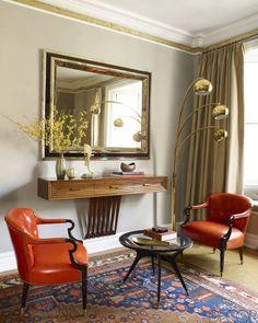 House Tour: A Venice-Inspired Manhattan Apartment by designer Jim Luigs.