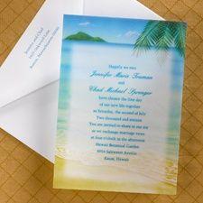 Oceanside - Invitation