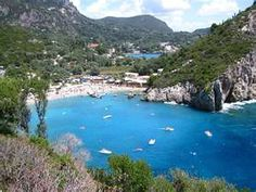 Picture of Paleokastritsa in Corfu Island - Greece
