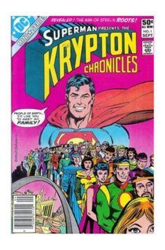 Krypton Chronicles #1 (Sep 1981, DC) - VGF