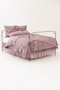 I think this would look great in her room on her big girl bed