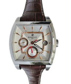 Men`s Stainless Steel Perrelet reference A1021/4 Swiss made watch.    http://www.liveauctioneers.com/item/25627372_mens-stainless-steel-perrelet-power-reserve-with-day