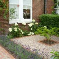 Bellow we give you front garden on a new build estate angie barker trading as and also 28 beautiful small front yard garden design ideas style motivation. Gravel Front Garden Ideas, Front Yard Garden Design, Gravel Garden, Small Garden Design, Front Yard Landscaping, Landscaping Ideas, Small Front Garden Ideas Uk, Small Garden Ideas Low Budget, Garden Paths