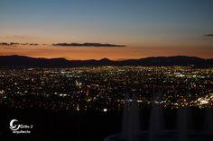 Querétaro, México, Atardecer.