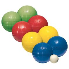 Amazon.com : Franklin Sports Recreational Bocce Set : General Sporting Equipment : Sports & Outdoors