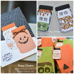 2016-10-halloween-collage Are You Happy, Stampin Up, Playing Cards, Collage, Halloween, Sweet, Blog, Blogging, Collage Art