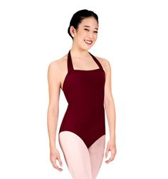 Adult Pull-Over Halter Leotard - Style No TB150