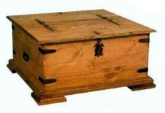 casas, cocinas, mueble: Baules de madera