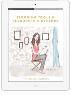 Bloggers Resources from The Blog Stylist