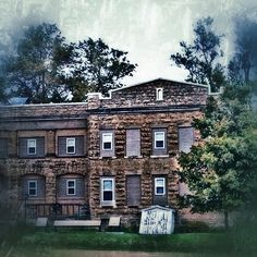 This used to be the Stephenson County Nursing Home, and once was 3 stories - @frankyboy1- #webstagram