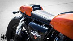 1978 Honda CB750 Cafe Racer by ZDR Custom Moto #motorcycles #caferacer #motos   caferacerpasion.com