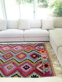 Anoushka Rug --NEW! Turkish Kilim rugs on tabletonic.com.au! : Table Tonic