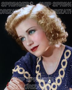 5 DAYS! 8X10 GINGER ROGERS CIRCLE LINKED SWEATER COLOR PHOTO BY CHIP SPRINGER. Please visit my Ebay Store at http://stores.ebay.com/x5dr/_i.html?rt=nc&LH_BIN=1 to see the current listings of your favorite Stars now in glorious color! Message me if you would like me to relist your favorites. Check out my New Youtube videos at https://www.youtube.com/channel/UCyX926rA5x4seARq5WC8_0w
