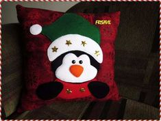 Christmas Humor, Christmas Projects, Holiday Crafts, Christmas Crafts, Christmas Decorations, Holiday Decor, Kids Pillows, Throw Pillows, Advent