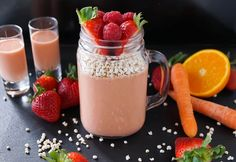 healthy meals for dinners recipes easy beef Healthy Chicken Fingers, Healthy Drinks, Healthy Sweets, Healthy Smoothies, Meal Replacement Smoothies, Best Fruits, Smoothie Drinks, Healthy Dinner Recipes, Juicing