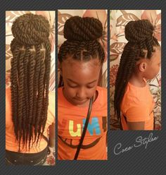 Kid`s Marley Twists..maybe one day! so cute and will last longer than a couple of days like other styles!
