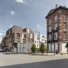 Logements et centre médical rue de Jérusalem - Bruxelles / ARJM Architecture & Urbanisme
