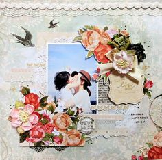 love *My Crative Scrapbook Limited Edition Kit Aug* - 2013 WP Postcard from Paris
