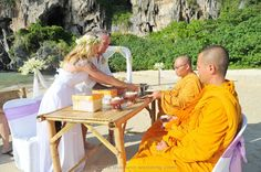 Railay Beach Wedding Railay Beach, Thailand Wedding, Event Organiser, Wedding Ceremony, Destination Wedding, Marriage, Valentines Day Weddings, Destination Weddings, Weddings