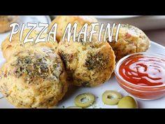 Pizza mafini - Recepti.com - YouTube Mafini Recepti, Pizza, Make It Yourself, Breakfast, Youtube, Recipes, Instagram, Food, Morning Coffee