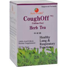 Health King Cough-off Herb Tea - 20 Tea Bags
