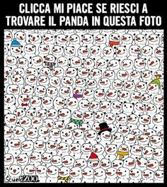 """Trovate il #panda #joke #play #like #ScuolaZoo"""