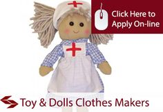 Toy and Dolls Clothes Makers Public Liability Insurance