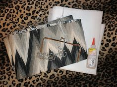 How To Make Your Own Clutch Handbag DIY | Miss.Sewing - A Beginner Sewing Blog