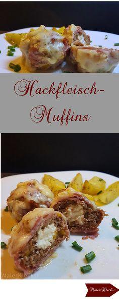 Hackfleisch-Muffins