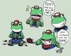 Slippy Toad expressions